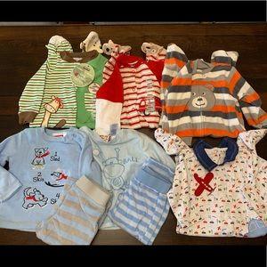 Baby Boy Pajamas 6-9 Months